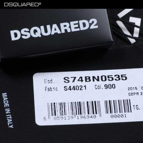 ディースクエアード DSQUARED149  メンズ ウール レザー ジャケット S74BN0535 S44021 900 15A (R365040)【smtb-TK】