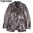 【送料無料】 TOM FORD(トム フォード) メンズ レザージャケット ブレザー SL04 M09 【楽ギフ_包装】【smtb-TK】 15A