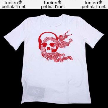 【送料無料】ルシアンペラフィネ( lucien pellat-finet) レディース ロングTシャツ 長袖 EVF1034 WH/RED 【楽ギフ_包装】 DB12S