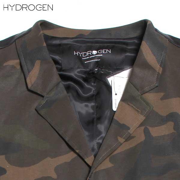 ハイドロゲン HYDROGEN  メンズ ミリタリー ジレ ベスト 190714 060 DB61A【smtb-TK】