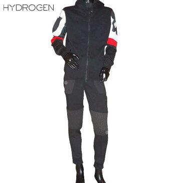 【送料無料】 ハイドロゲン(HYDROGEN)メンズ スカル ジップパーカー スウェット セットアップ 上下組 200600+200604 007 【楽ギフ_包装】 【smtb-TK】 71S【SALE1701】