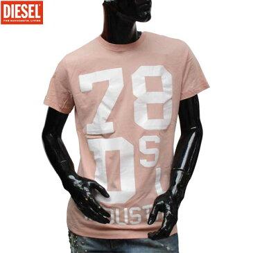 ディーゼル DIESEL メンズ クルーネック 半袖 Tシャツ 00SVR7 32W 71S (R7344)