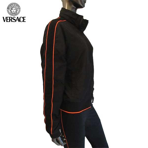 ヴェルサーチ Versace  レディース ジップアップ パーカー スポーツウェア AUD03040 AP00054 A2171 71A【smtb-TK】パンツ別売