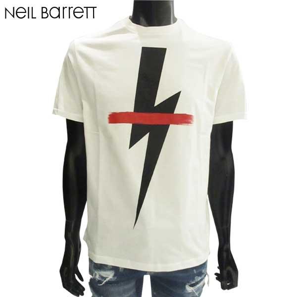 ニールバレット Neil Barrett  メンズ クルーネック 半袖 Tシャツ PBJT362D G556S 1141 81S【smtb-TK】
