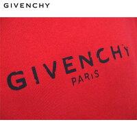 【送料無料】2019年春夏新作ジバンシー(GIVENCHY)メンズパーカートップスヴィンテージ風ロゴスウェットシャツフーディレッド赤オレンジBM700R30AF620【smtb-tk】91S