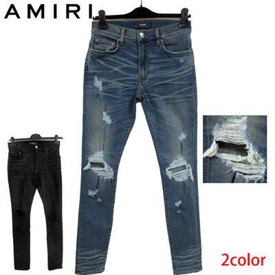 メンズファッション, ズボン・パンツ 2019 AMIRI 2color MBTHR DES CLASSIC INDIGO BLACK WAX (R112320) smtb-tk GB91S