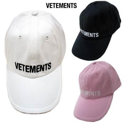 メンズ帽子, キャップ  VETEMENTS 3color Reebok VETEMENTS UAH20AC610 WHITEBLACKPINK (R44000) GB91A smtb-TK