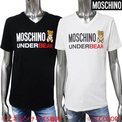 トップス, Tシャツ・カットソー  MOSCHINO T 2color VT 1917 8103 0555 0001 (R18700) 02S 2020 smtb-TK
