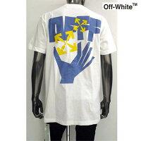 オフホワイト(OFF-WHITE)メンズトップスTシャツ半袖ロゴ2colorチェスト部分OFFWHITEロゴ・バックマルチロゴプリント付Tシャツ白/黒OMAA027R21JER0050140/1040(R39600)GB1212021年春夏新作【送料無料】【smtb-TK】