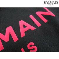 バルマン(BALMAIN)メンズトップススウェットトレーナーロゴ2color前Vガゼット・BALMAINPARISピンクカラーロゴ付スウェットホワイト/ブラックVH0JQ005B042GFL/ECX(R73700)1212021年春夏新作【送料無料】【smtb-TK】