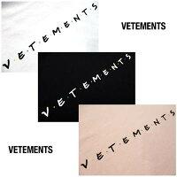 ヴェトモン(VETEMENTS)メンズトップスTシャツ半袖オーバーサイズロゴ3colorVETEMENTSポップロゴ刺繍付オーバーサイズTシャツ白/黒/ピンクVE51TR340W/B/PWHITE/BLACK/PINK(R50600)1212021年春夏新作【送料無料】【smtb-TK】