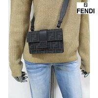 フェンディ(FENDI)メンズ鞄バッグ2wayロゴユニセックス可※ウエストポーチとても使えますバゲットスリムクラッチ総柄FFズッカ柄プリント付2wayショルダーミニバッグ7M0295A9ZLF1DGS(R108900)ET1212021年春夏新作【送料無料】【smtb-TK】