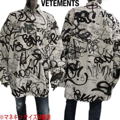 トップス, カジュアルシャツ  VETEMENTS UE51SH900B 1008 WB (R115500R118800) GB121 2021 smtb-TK