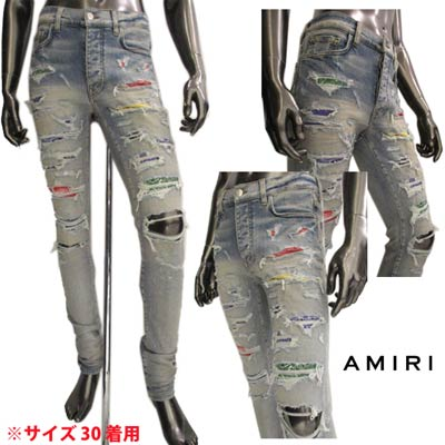 メンズファッション, ズボン・パンツ  AMIRI MDS021 408 CLAY INDIGO (R200200) 121 2021 smtb-TK