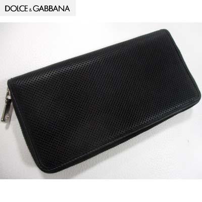 DOLCE&GABBANA『ラウンドファスナー長財布(BP1435A3F83NERO)』