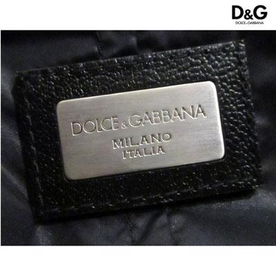 ドルチェ&ガッバーナ(DOLCE&GABANNA) メンズ ジャケット アウター バックロゴプレート付ナイロンジャケット ブラック G9706T FUMM5 N0000 (R100900)  12S 【smtb-TK】