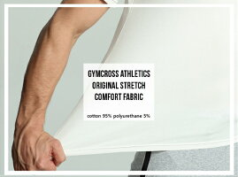 【送料無料】GYMCROSS(ジムクロス)【PERFORMANCE】トレーニングフィットネスウェアTシャツ半袖ストレッチ【メンズ】gc-069