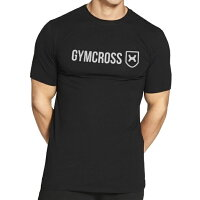 GYMCROSSストレッチパフォーマンスTシャツ半袖[メンズ]トレーニングウェアフィットネスウェアgc-069