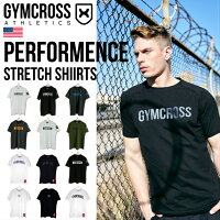 GYMCROSS(ジムクロス)トレーニングフィットネスウェアプリント半袖Tシャツラグランスリーブ【メンズ】gc-ss1