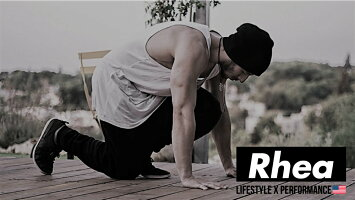 Rhea(レアー)チノジョガーパンツワークパンツチノパンストレッチストリ−トワークアウトトレーニングウェアフィットネス【メンズ】rh-008デニム