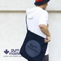 gymmaster(ジムマスター)G899397サークルロゴ2WAYトートバッグ