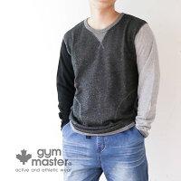 gymmaster(ジムマスター)G602302スウェットロングテールクルーネック