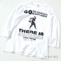 gymmaster(ジムマスター)G799369GOTOCANADATee(7分袖)