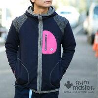 gymmaster(ジムマスター)G602301スウェットロングテールジップパーカー
