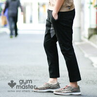 gymmaster(ジムマスター)G843391ストレッチヘリンボーンアンクルパンツ
