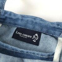 Lensconcave(レンズコンケイブ)L980410BARBER柄デニムトート