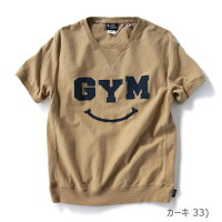 gymmaster(ジムマスター)G702301-P3ペーストプリントGYMスマイルTee