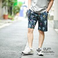 gymmaster(ジムマスター)G921347ハッピーペイントショーツ