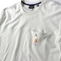 gymmaster(ジムマスター)G933323ブロックインレーサボテン刺繍Tee