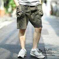 gymmaster(ジムマスター)G957374ドロップポケットショーツ