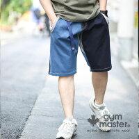 gymmaster(ジムマスター)G943365ストレッチデニムショーツ