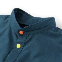 GOOUT掲載gymmaster(ジムマスター)G102602カラフルスナップボタン2WAYシャツ|カラフルボタンバンドカラー|メンズ|レディース|