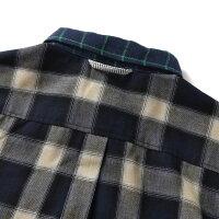gymmaster(ジムマスター)G143615切替えチェック2WAYシャツ