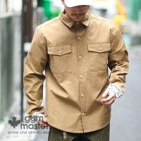 gymmaster(ジムマスター)G157625ストレッチバックツイルシャツJKT
