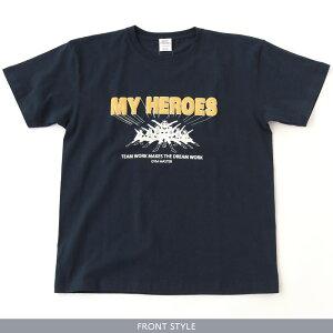gymmaster(ジムマスター)公式MYHEROESTEE|メンズ|レディース||丸首|クルーネック|半袖|スカル|骸骨|スーパースター|部屋着|T恤衫|G492691