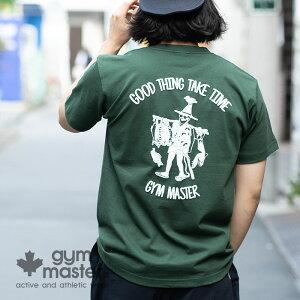 gymmaster(ジムマスター)公式GOODTHINGTee|メンズ|レディース|ユニセックス||おじさん|魚|アウトドア|部屋着|トップス|春夏|カジュアル|バックプリント|T恤衫|G480673
