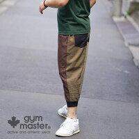 gymmaster(ジムマスター)公式麻レーヨンクロップドパンツメンズ|レディース|ユニセックス|ジムマスター|麻|レーヨン|クロップドパンツ|半端丈|清涼感|涼しい|部屋着|アウトドア|裾リブ|ウエストゴム|G421637