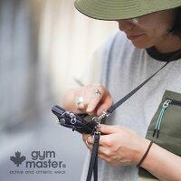 gymmaster(ジムマスター)公式ハッピー刺繍スマホポーチスマホケース|メンズ|レディース|防水|撥水|斜めがけ|携帯入れ|お財布|アウトドア|メンズ|レディース|ユニセックス|G421608