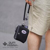 gymmaster(ジムマスター)公式ハッピー刺繍スマホポーチスマホケース|メンズ|レディース|防水|撥水|斜めがけ|携帯入れ|お財布|アウトドア|メンズ|レディース|ユニセックス|G421609