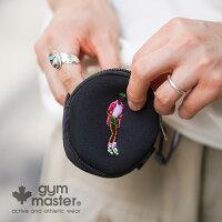 gymmaster(ジムマスター)公式ハッピー刺繍コインケースコインケース 小銭入れ メンズ レディース 防水 撥水 お財布 アウトドア ユニセックス G421610
