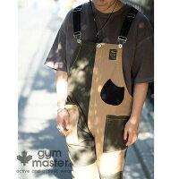 gymmaster(ジムマスター)公式ストレッチピケオーバーオールストレッチ|ピケ|オーバーオール|メンズ|レディース|コットン|オールインワン|サロペット|ワーク|パンツ|秋冬|大きいサイズ|クレージー|配色|G157652