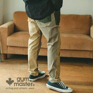 gymmaster(ジムマスター)公式ストレッチヘリンボーンベーカーパンツパンツ カーゴパンツ メンズ レディース ユニセックス コットン 秋冬 大きいサイズ ワーク ベーカーパンツ 作業着 海外発送 G302648