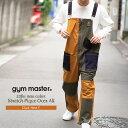 gym master(ジムマスター) 公式2nd掲載ストレッチピケオーバーオールストレッチ|ピケ|オーバーオール |メンズ|レディース|コットン|オールインワン|サロペット|ワーク|パンツ|秋冬|大きいサイズ|クレージー|配色|海外発送|G157652・・・