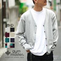 gymmaster(ジムマスター)G102617G102617プレミアムヘビーウエイトVカーディガン