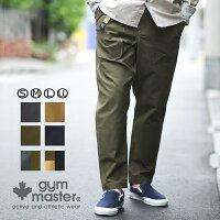 gymmaster(ジムマスター)G157626ストレッチバックツイルイ—ジ—パンツ