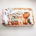 豊洲市場おでんセット「松」(5-6人前) 冷蔵便  [おでんセット,さつま揚げ,はんぺん,じゃこ天,はも天,いか天,魚肉すじ,ちくわぶ,ちくわ]